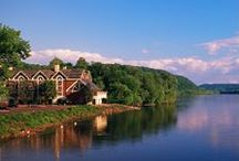 Lambertville, NJ / Lambertville, NJ - 3 Miles South of Stockton NJ, home of the Woolverton Inn! Lambertville is voted one of the best small towns in America!