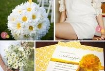 White Daisy Wedding