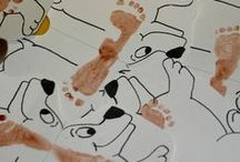 """Art and other activities for kids / Sometimes parents and caregivers may need some """"rainy day"""" ideas for their toddlers and preschoolers.  We would love to help you with play your children!  It's what we do :)"""