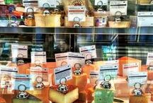Our cheese, meats and more / Artisan cheese, salami, charcuterie, butters and more on sale