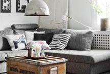 Living Room / Living Room Decor - Living Room Ideas - Teal Living Room - Living Room Design - Cozy Living Room - Living Room Colors - Apartment Living Room - Living Room Layout - Rustic Living Room - Neutral Living Room - Modern Living Room