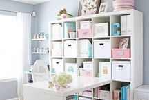 Office / Office Organization - Home Office - Office Ideas - Office Design - Office Supplies - Office Space - Small Office - Office Decoration - Office DIY - Ikea Office - Budget Office