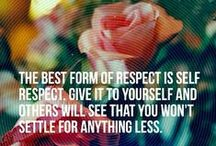 Respect / September's character trait is Respect: Recognizing, considering and properly honoring the worth of one's self and others.