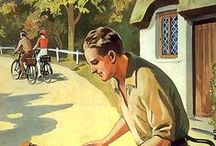 Vintage Cycling Posters / Just for fun. We love old cycling  posters and postcards and will share any we discover here.