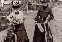 Fashion on a Bicycle