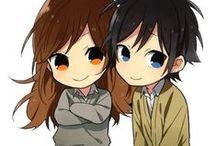 Kawaii Chibi / #Chibi #anime #girl #boy #Couples #pikachu