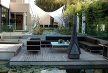 house with terrace & outdoor space / dom z tarasem / by Wytwórnia Tlenu /gardens/ogrody