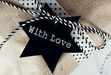 WRAPPING GIFTS ♥ / *Inpakken van Cadeautjes*