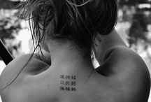 SMALL TATTOOS ♥ / *I want another tattoo, small and meaningful*