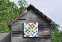 Barn Quilt Art / Not just for barns, these designs can be sized to go on mailboxes, front doors or anything you love!