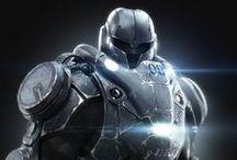 Armor / Sci-fi / Art