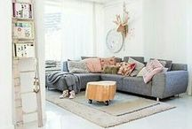COLOUR YOUR HOME ♥ / *Ok...Just A Litlle Bit Of Colour, Mixed With A Lot Of White*