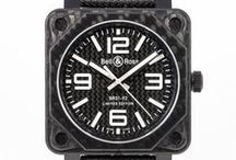 Black Watches / Watches with Black PVD, DLC, Coatings and solid black materials like Ceramic and ALCHRON.