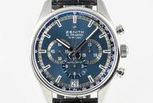 Zenith Watches / Zenith watches available for sale at OC Watch Company located in downtown Walnut creek.