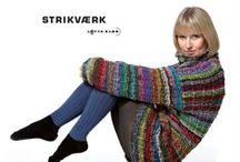 BOOK: Strikværk / Knitting book by Lotte Kjær. 18 designs. Published in 2011. The designs are inspired by the area in Denmark where I grew up, Vesthimmerland. To each design my oldest girlfriend Lene has written pictures of the period, she also grew up in Vesthimmerland. All photos by Uffe Kjær.