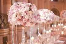 WEDDING CENTERPIECES / Lovely centerpieces- Tall and high and small and low centerpiece ideas for your wedding day!