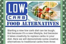 NoCarb/LowCarb Alternatives