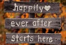Wedding inspo / Wedding of my dreams. Fall 2016
