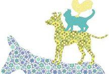 WWW.INKE.NL -> Bremer stadsmuzikanten / Bremer Stadtmusikanten / behangfiguren van ontwerpster Inke Heiland worden met de hand geknipt van vintage behang wallpaper-silhouettes by Inke Heiland, donkey / dog / cat / rooster