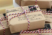 Gift wrapping and ideas