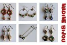 Nadine Bijou - my handmade bijouterie / bijouterie/jewellery: earrings, bracelets, necklaces & sets.  https://www.facebook.com/NadineBijou http://www.fler.cz/shop/nadine78