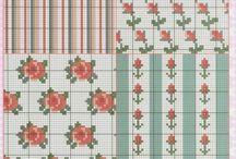 cross stitch/patterns /motifler