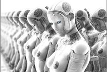 Cyber / #cyber #cyberpunk #cybergirl #cyberwomen #future #fantastic #robot #skifi  #futuristic