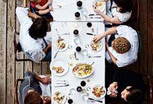 | Let's eat together |