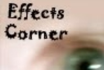 Effects Corner / Images and videos related to my visual effects blog: Effects Corner.  http://effectscorner.blogspot.com