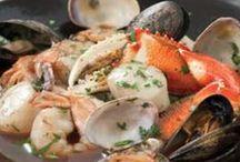 Seafood-Mixed / Shellfish & Fish Recipes - Mixed / by Singing Pines