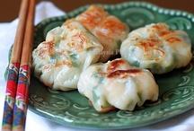 AsianDumplings,DimSum,SteamedBuns / Asian Dumplings > Dim Sum_Pot Stickers_Steamed Buns_Wontons (Soft) / by Singing Pines