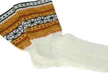 Baltic and Scandinavian Traditional Socks / Colorful Latvian, Baltic, and Scandinavian knitted socks, traditional and otherwise.