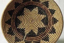 Basketry / I am an avid collector of baskets. This is a place to collect even more baskets--together with ideas for knitted versions of them.