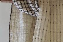 Rustic Textiles / Traditional textiles with contemporary interpretations. Old made new again!
