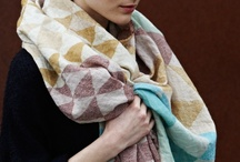 Scarf Inspiration / One can never have too many scarves!