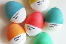 Martan pääsiäinen / Pääsiäinen kotona. Kevään värejä, koristeita ja herkkuja.