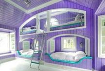 very cool rooms / I wish my room would look like some of these