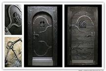 DOOR by ZAGORSKI KUZNIA / www.zagorskikuznia.pl