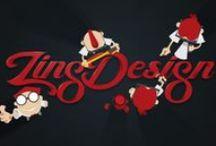 Our portfolio / A visual board of our work at Zing Design.  Visit our full portfolio at www.zingdesign.com/portfolio.