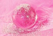 MY FAVE COLOUR PINK!! (with sparkles of course) / I love pink it rocks