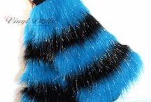 FUZZY LEG WARMERS!!!! / My kind of fashion