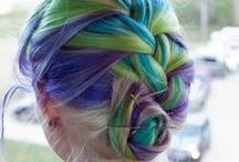 AWESOME COLORFUL HAIR!!!!