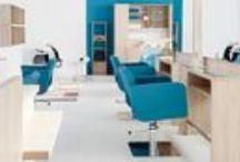 Salones Pahi / El #mobiliario de #PahiBarcelona en diferentes salones de todo el mundo.