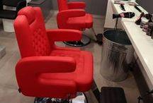 Sillones Peluquería - Styling Chairs / Flexibles, adaptables, resistentes y camaleónicos.  Así son los productos de Pahi. Personalizamos tapizados, adaptamos las medidas al espacio disponible y realizamos acabados individualizados.  http://pahi.com/es/products
