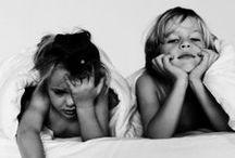 Cute Kids // Black & White Photography