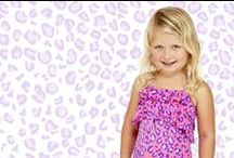 P E T I T E S / Girls swimwear and rash vests/ rash guards for those aged between 0 - 7 years old