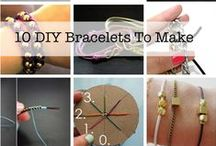I'll plait them on my wirst... / Cool bracelets and how to make them...