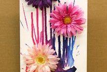Výtvarné nápady / http://www.alittlecraftinyourday.com/2013/07/12/clothespin-diy-frame/