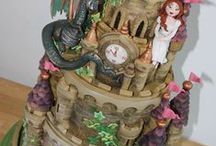 Castle cakes / castle cakes and tutorials