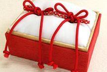 和風リングピロー,Japanese Style Ring Pillow / 和風リングピロー,Japanese Style Ring Pillow